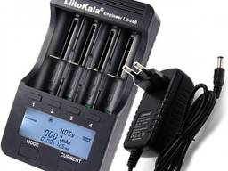 Зарядное устройство LiitoKala Lii-500 Engineer с блоком питания и функцией Power Bank