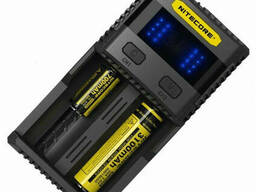 Зарядное устройство Nitecore SC2 с LED дисплеем