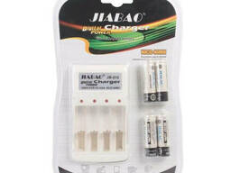 Зарядное устройство с ААА аккумуляторами Jiabao Digital. ..