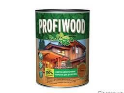 Защит. -декор. покрытие для древесины Profiwood тик 0,75л