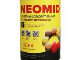 Защит декор состав для древесины Neomid BiO Color Ultra
