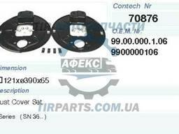 Защита барабана тормозного BPW (9900000106 | 70876CNT)