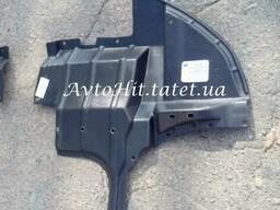 Защита двигателя, дефлектор левый Mitsubishi Outlander I. ..