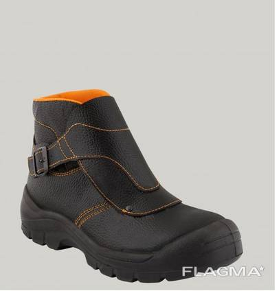 Защитная спецобувь ботинки сварщика ботинки рабочие с клапаном для сварщиков