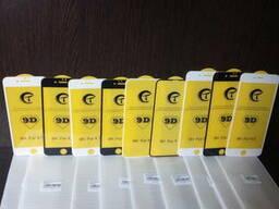 Защитное стекло 9D на айфон, Iphone 4,5,6,7,8,7-8 X, X