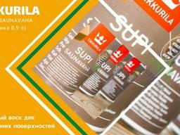 Защитный воск для внутренних поверхностей Supi Saunavaha – Tikkurila (банка 0,9 л)