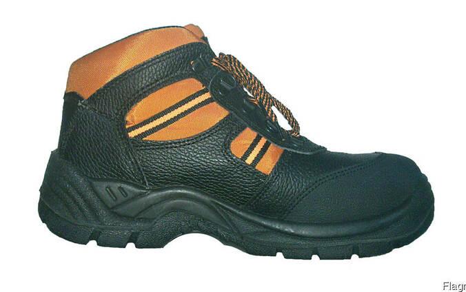 """Защитные кожаные ботинки с металлическим подноском """"Btomas"""""""