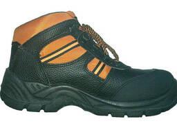 """Защитные кожаные ботинки с металлическим подноском """"Btomas"""" - фото 1"""