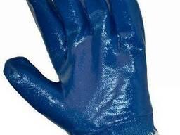 Защитные промышленные перчатки с неполным покрытием