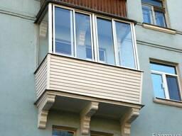 Застеклить балкон недорого, лоджию, терасу