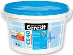 Затирка для швов водостойкая СЕ-40/2 карамель 2 кг
