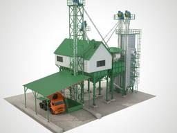 ЗАВ 50 - Строительство зерноочистительных комплексов ЗАВ