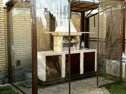 Завесы - мягкие окна из прозрачной пвх ткани Achilles