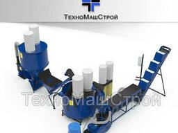 Завод по производству гранулированного комбикорма. Комбикормовый завод.
