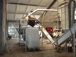 Завод по производству пеллет из дерева с карьером торфа