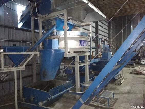 Завод по виробництву бруківки(Оборудование для брусчатки)