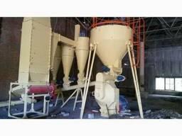 Завод производства пеллет на базе сушильного барабана АВМ-0.