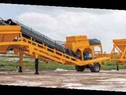 Завод стабилизации грунта, Мобильный. 400 т/ч, OKUR Турция