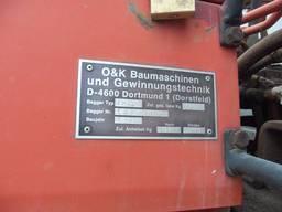 Заводская табличка экскаватора O&K MH2. 8C #00242 СН