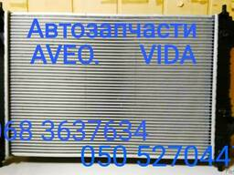 Шевроле Авео радиатор охлаждения кондиционера