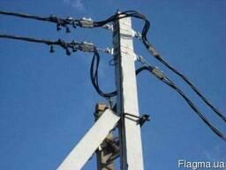 Провод СИП 2х16 ввод в дом, магистральные сети замена ЛЭП