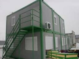 Здания из контейнеров, модульное строительство