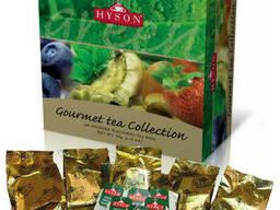 Зеленый чай Hyson Gourmet Tea Collection c фруктовыми. ..