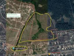Земельный участок под застройку 80 га, Березовка (19 км от Киева)