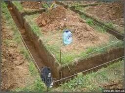Землекопные работы: копка траншей, котлованов, выгребных ям