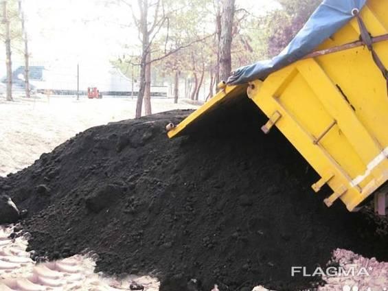 Купить с доставкой грунт, песок, чернозем, щебень дешево!