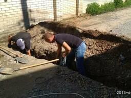 Земляные работы, копка траншей, котлованов вручную в Виннице
