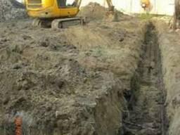 Земляные работы мини экскаватором