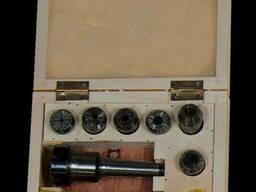 Zenitech ER 25 комплект цанг 6 шт. + патрон MT 2, цанги