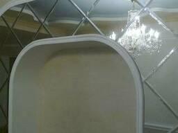 Зеркальная плитка с полированным фацетом