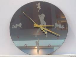 """Зеркальные часы """"Соблазн"""" - фото 4"""