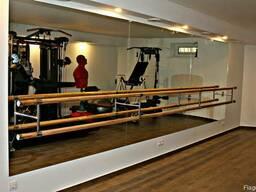 Зеркало для хореографического зала с установкой