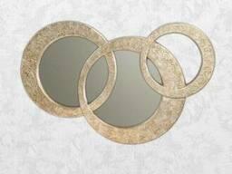 Зеркало настенное серебро Carlo de Santi SF5629