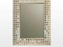 Зеркало настенное в серебре Carlo de santi SF05279