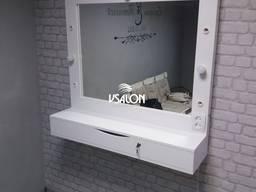 Зеркало навесное с ящиком органайзером