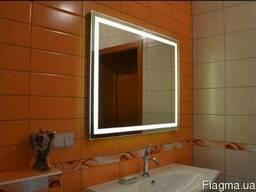 Зеркало с LED подсветкой.