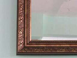 Зеркало в пластиковом багете 5836-16 1,2*0,6м