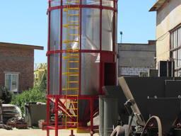 Зерносушилка бункерная циркуляционная СБЦ-16, Зерносушилка 16м³
