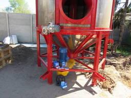 Зерносушилка бункерная циркуляционная СБЦ-4; Мини зерносушилка 4 м³