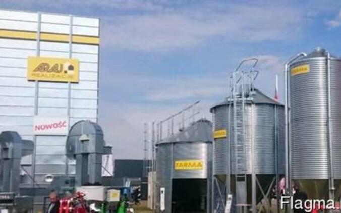 Зерносушилка энергосберегающая непрерывного действия ARAJ