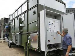 Зерносушилка мобильная универсальная DF15200 AlvanBlanch