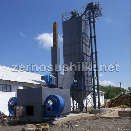 Зерносушилка шахтная