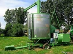 Зерносушилки шахтные, мобильные зерносушилки