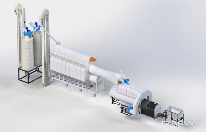 Зерносушильный комплекс на базе SZM-09.