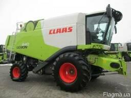 Зерноуборочный комбайн б/у. Комбайн Claas Lexion 640 (№1802)