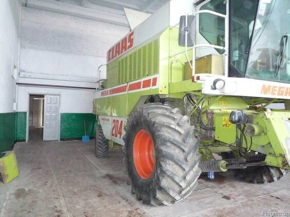 Зерноуборочный комбайн Клаас Мега-204